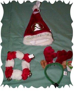 Christmas dog collars 1