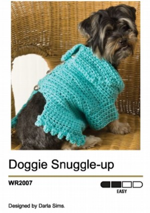 Checkerboard Dog Sweater Pattern | AllFreeCrochet.com