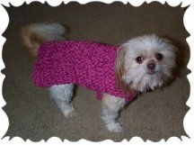 Cynthia's Cynfully Spiffy Stuff: Easy Chihuahua Sweater Pattern