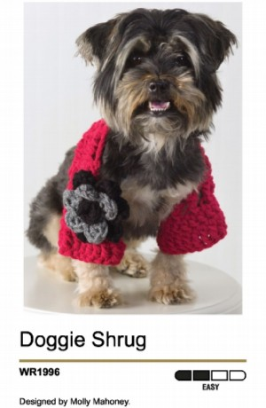 Dog's Crochet Granny Square Sweater Crochet Pattern | Red Heart